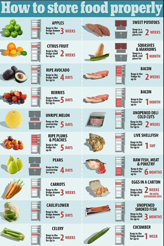 How to store food properly also restaurant storage chart atlantic publishing company culinary rh pinterest