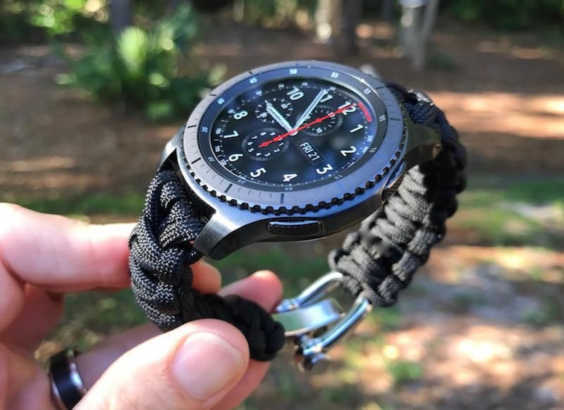 Samsung Gear S3 Paracord Watch Strap  bc1e4405a0f
