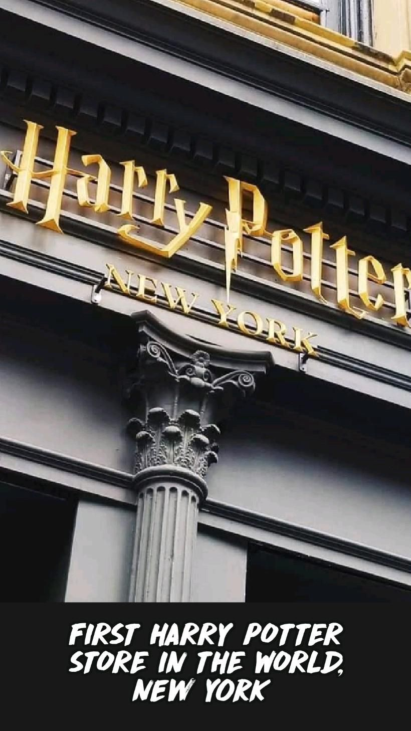 FIRST HARRY POTTER STORE IN THE WORLD, New York