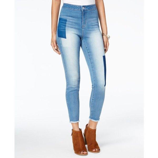 Hurricane blue stretch skinny jeans