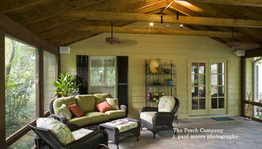 Inspiring Screen Porches Pictures Screened porches Porch and