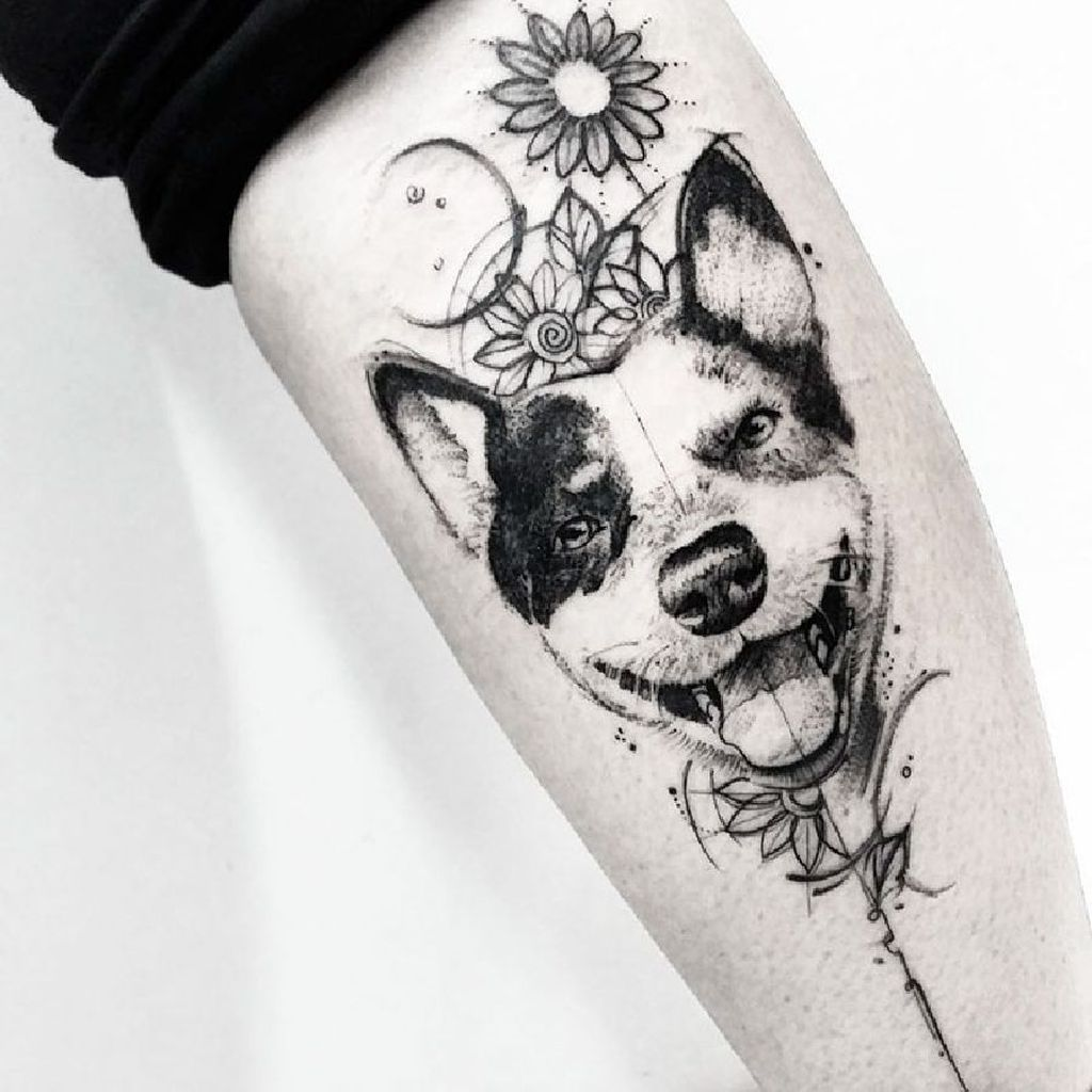 Cool dog tattoo ideas cool  cute and lovely dog tattoos ideas for dog lovers more at