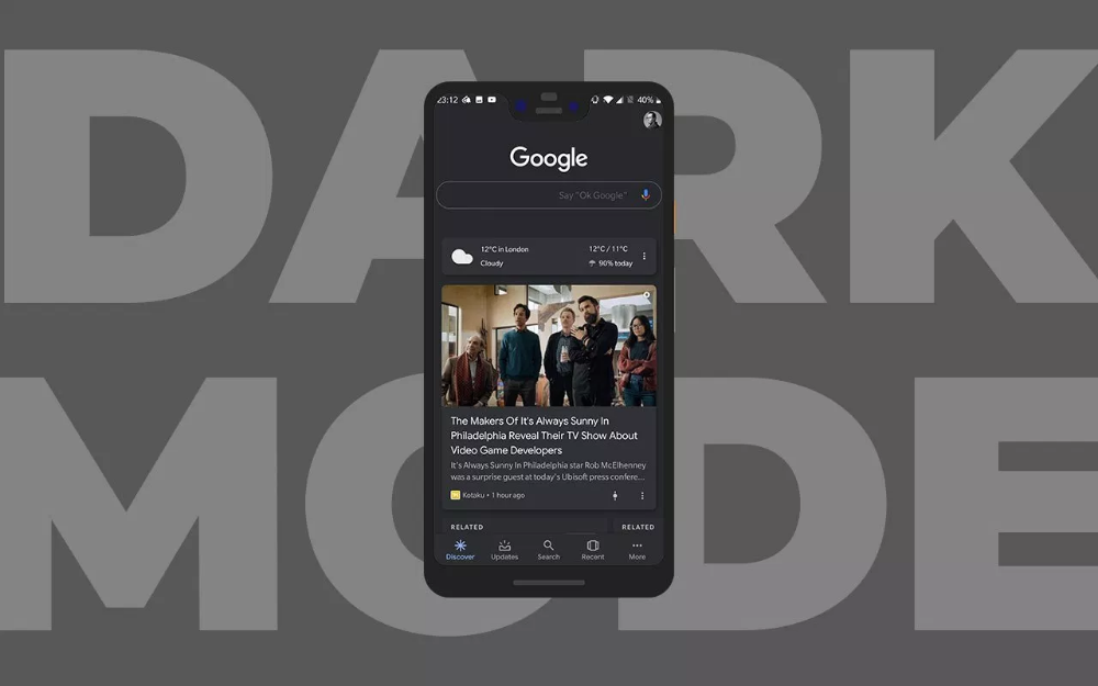 How to Enable Dark Mode or Night Mode on Google App on