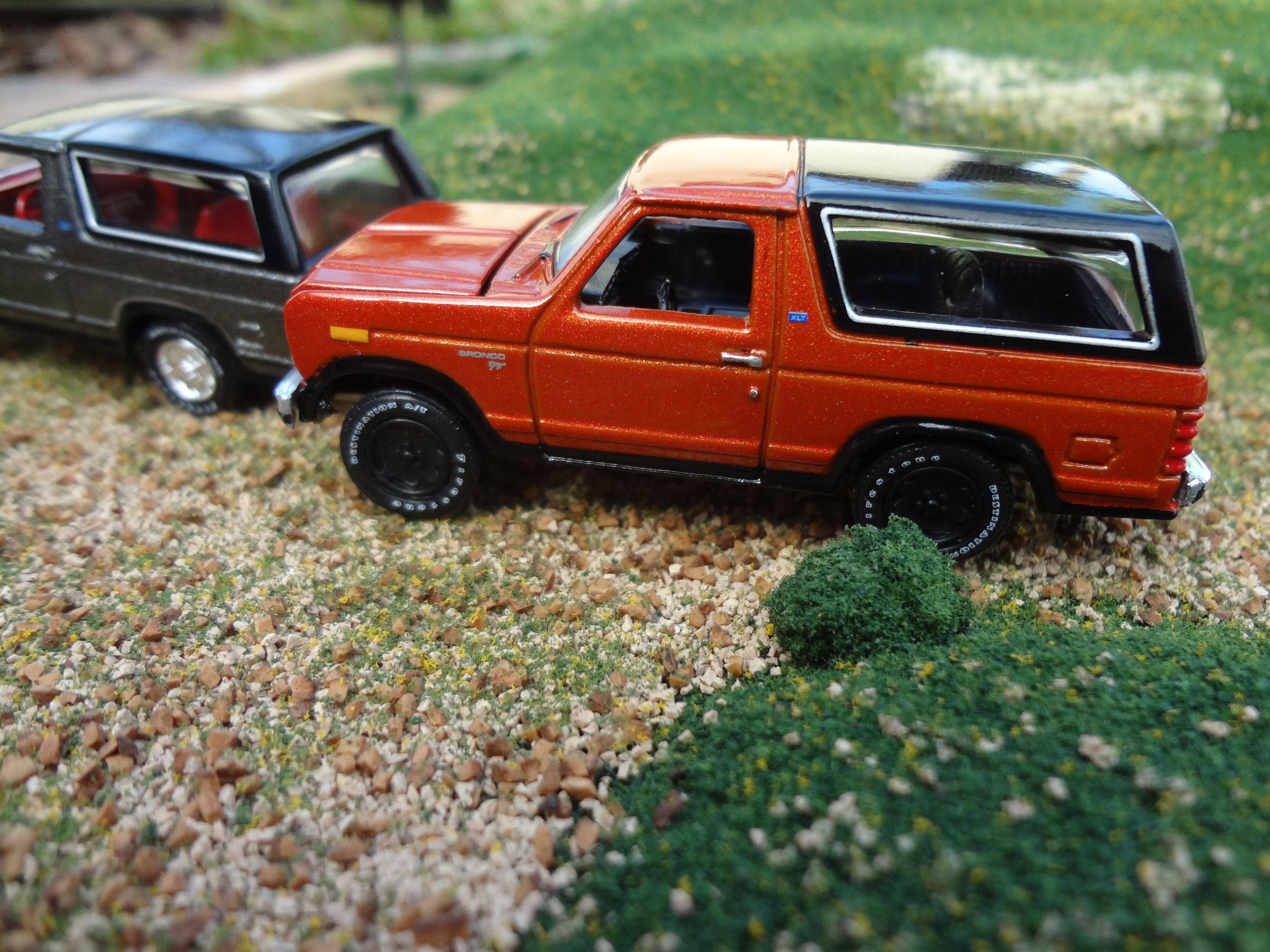 1980 Ford Bronco Brazen Orange Автомобили