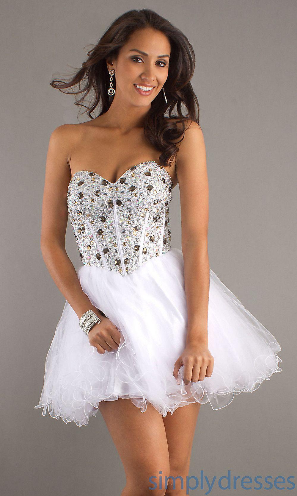 Strapless short prom dresses alyce prom dresses simply dresses
