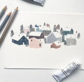 44+ Best Ideas for house illustration art – #Art #House #Ideas #Illustration
