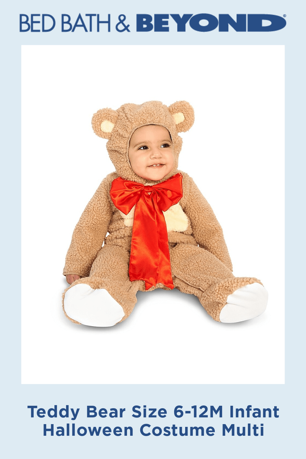 Teddy Bear Size 6-12M Infant Halloween Costume Multi