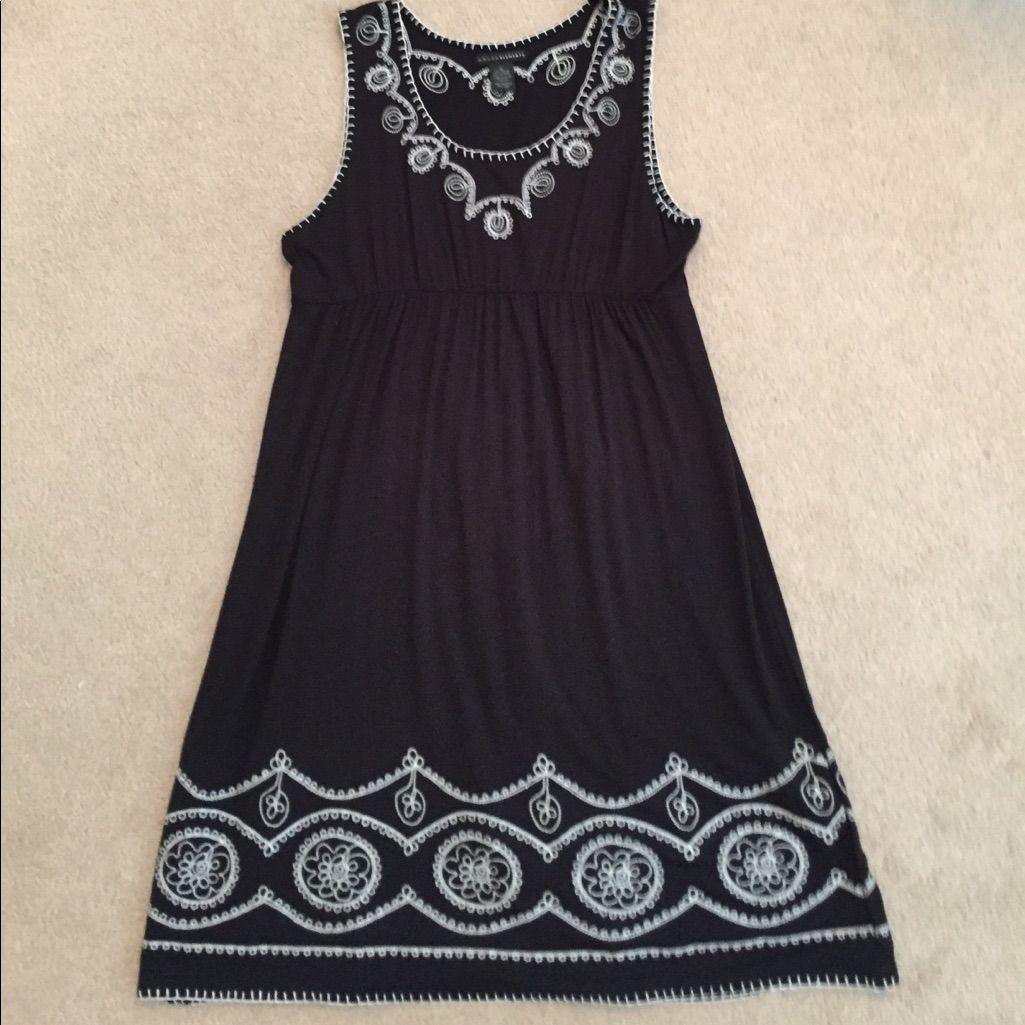 New Black Sleeveless Dress Xl