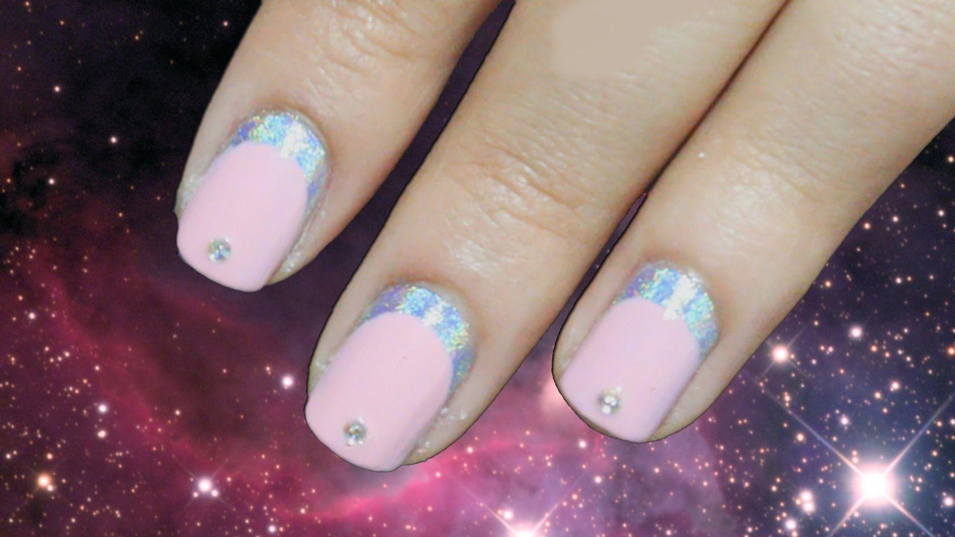 Hologram Eclipse Nails | French/Elegant/Classy Nails | Pinterest ...