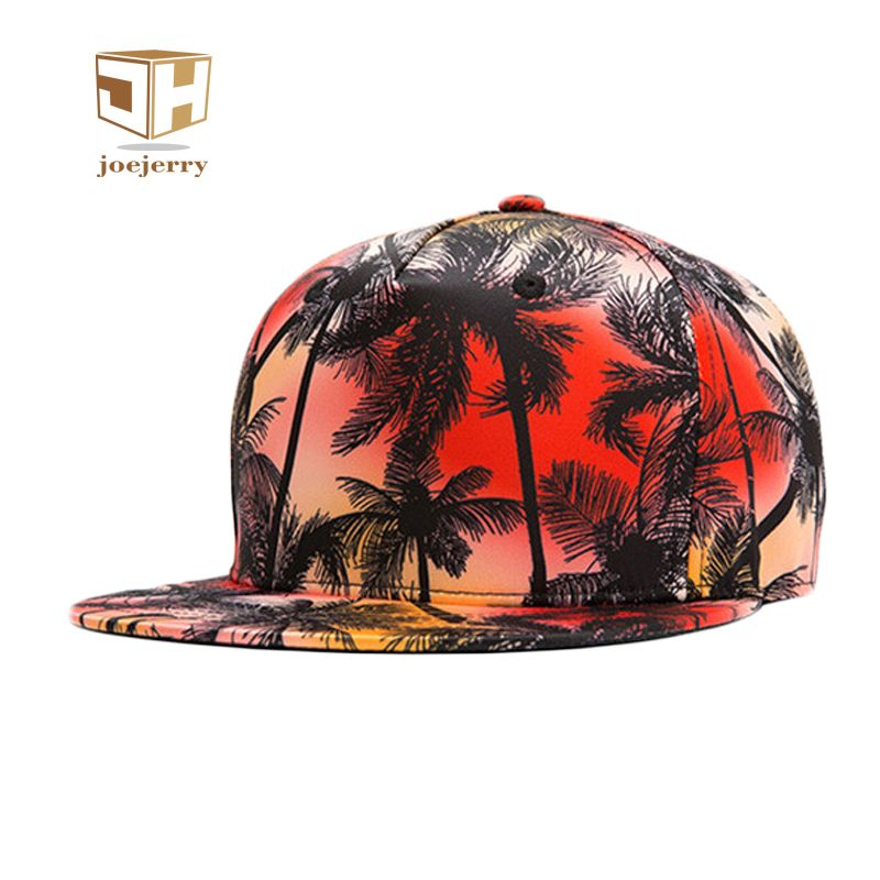 Joejerry 3d Printed Baseball Cap Snapback Womens Floral Caps Men s  Adjustable Hip Hop Flat Hat 67714102d