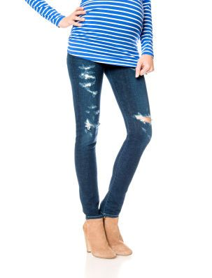 Citizens of Humanity // A Pea in the Pod // Secret Fit Belly 5 Pocket Skinny Leg Maternity Jeans