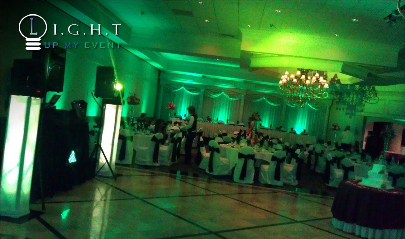 Cheap Wedding Insurance: Petruzellos @ Troy Michigan Wedding Uplight And Ceiling