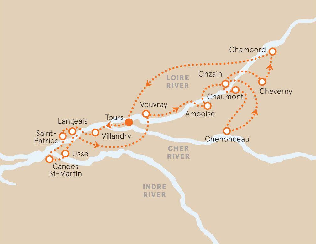 Loire Valley France Map France Pinterest France Loire Valley