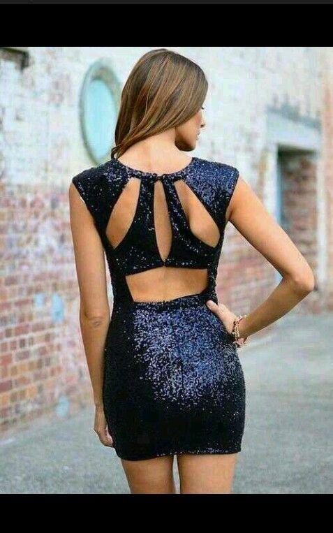 5e83e407990e Vestido abierto por la espalda | modelos para el grado | Vestidos ...