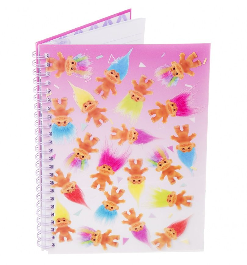 School Stationary Official 2 Good Luck Trolls A6 Exercise Book Note Books Set