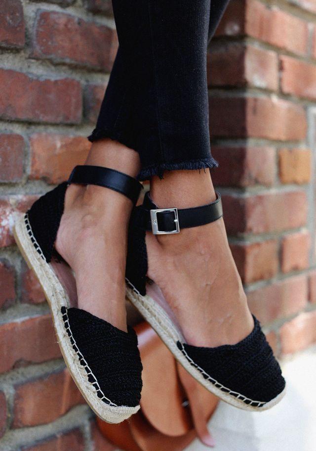 Ibiza Black   Zapatos verano, Zapatos