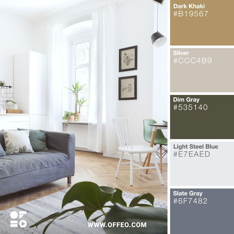 20 Modern Home Color Palettes To Inspire You Offeo Dizajn Palitra