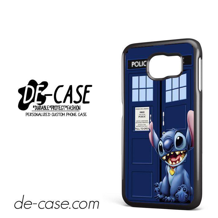 Tardis Lilo Stitch DEAL-10488 Samsung Phonecase Cover For Samsung Galaxy S6 / S6 Edge / S6 Edge Plus