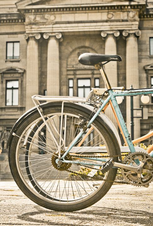 Bikes and Buildings by Carla Dyck
