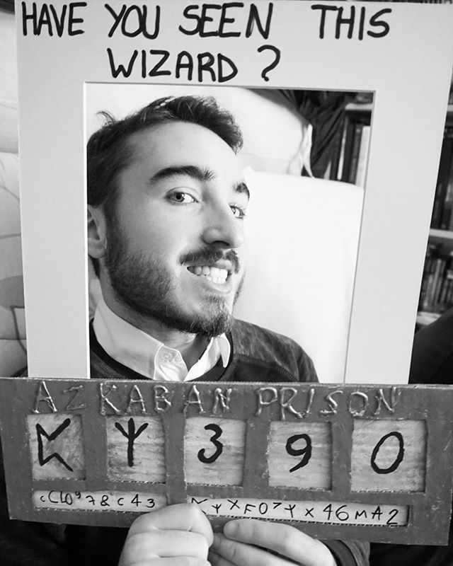 Have you seen this wizard ? #harrypotterparty #hpparty #wizard - halloween decoration rentals