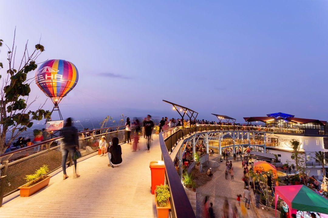 Inilah Heha Sky View Gunung Kidul Resto Dan Tempat Wisata Terbaru Yogyakarta Foto Wisata Tempat Pemandangan