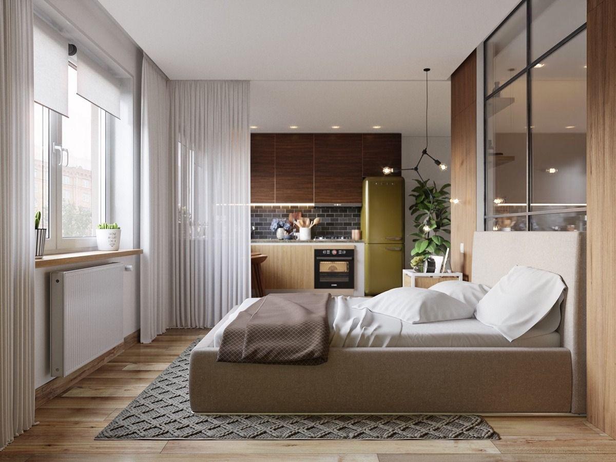 5 Beautiful Studio Apartments Apartment design, One