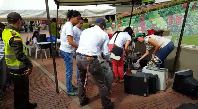 Jornada Recolección Residuos RAEE