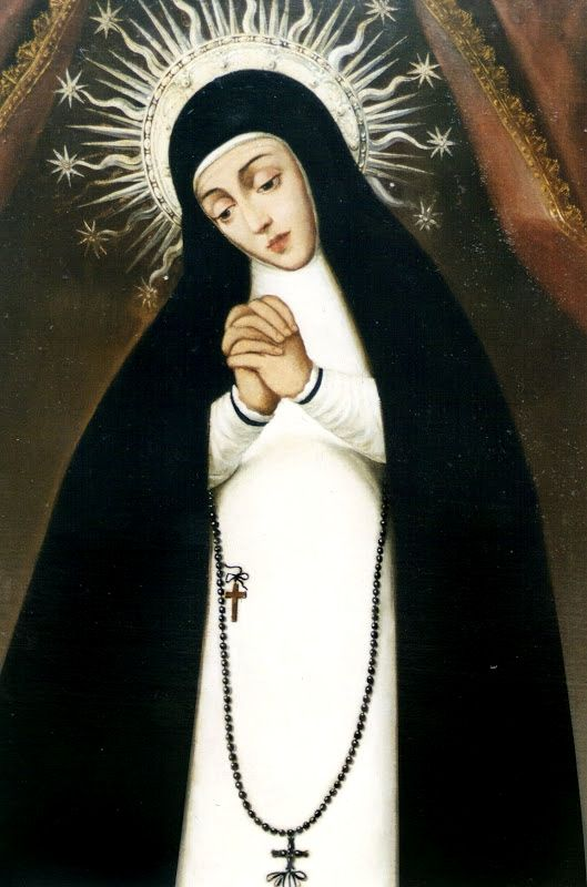 bbe29cdb00af Nuestra Señora de la Paloma The image of Our Lady of Solitude of the Dove  in Madrid