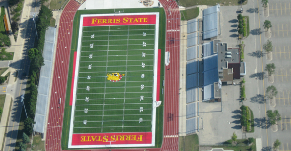 Stadiums Usa America S Home For Stadium Information Ferris State University Bulldogs Ferris State University Big Rapids