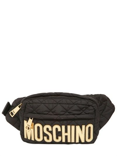 4f9243cca60 Moschino Quilted Nylon Belt Pack on shopstyle.com | I like ...