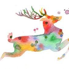 Image Result For Watercolor Christmas Cards Aquarell Weihnachten