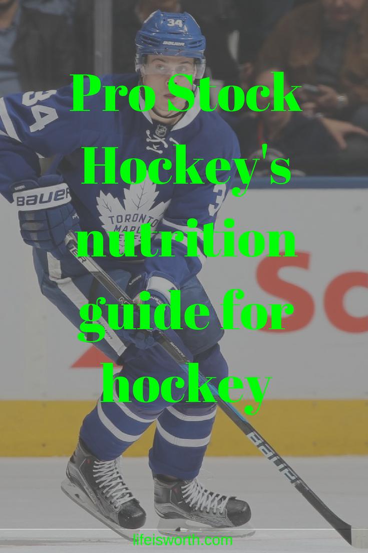 Hockey Pro Stock Hockey S Nutrition Guide For Hockey Please Visit Our Websit Hockey Players Hockey Youth Hockey