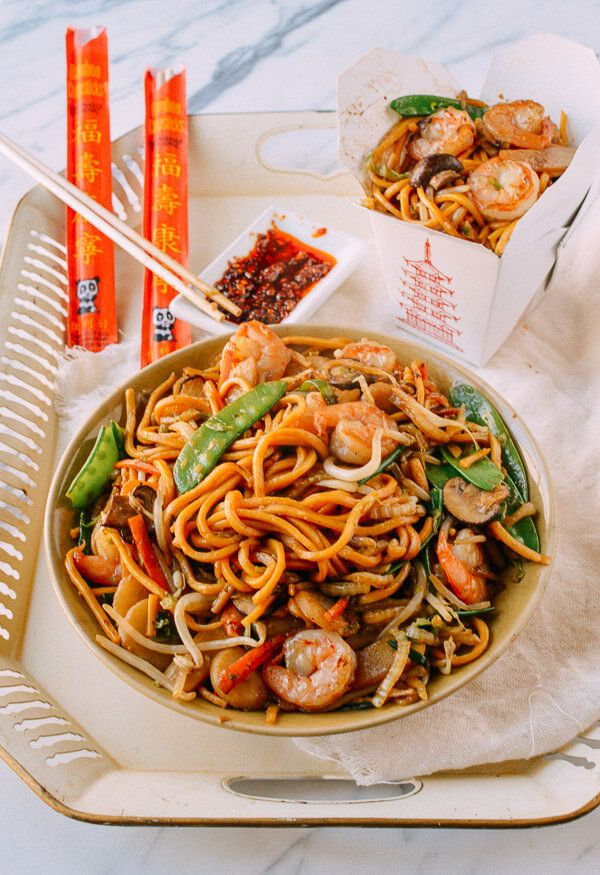 Shrimp Lo Mein Recipe Recipes Food Shrimp Lo Mein Recipe