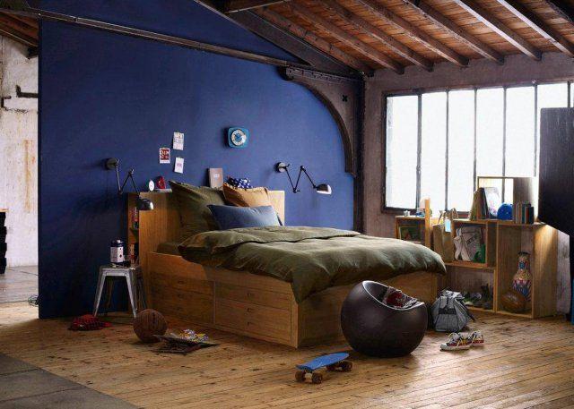 Une chambre d\'ado esprit loft | Ado, Esprit et Marie claire maison
