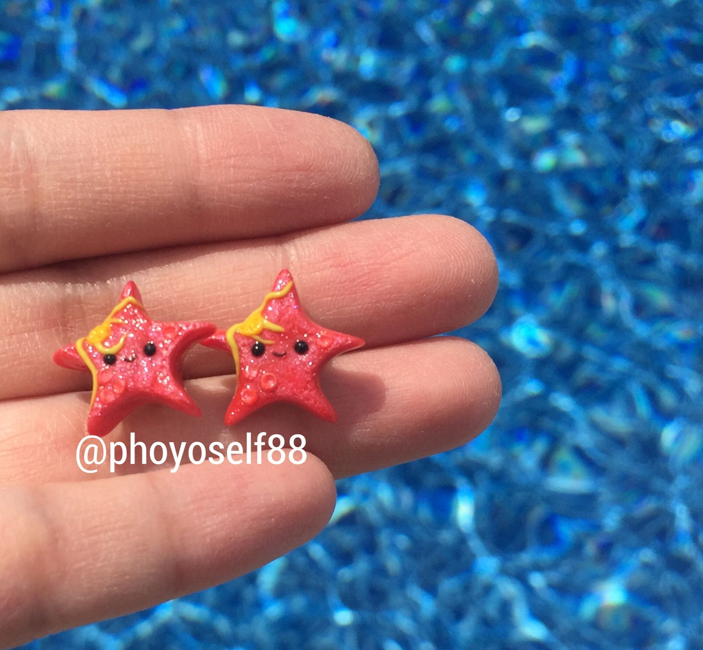 earrings llc black box bling stud store starfish