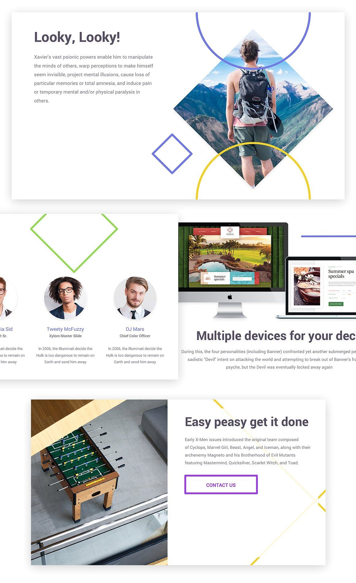 Xylom Clean PowerPoint Template headlinesbigreadable