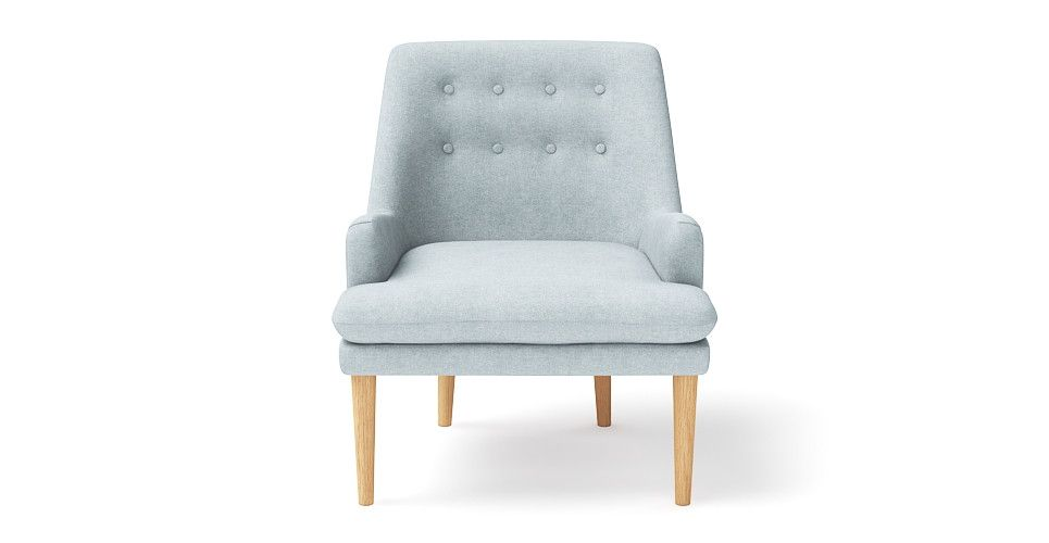 Beautiful Designer Feature #chair In Stylish Pastel Blue. These Retro Chairs  Are Made By