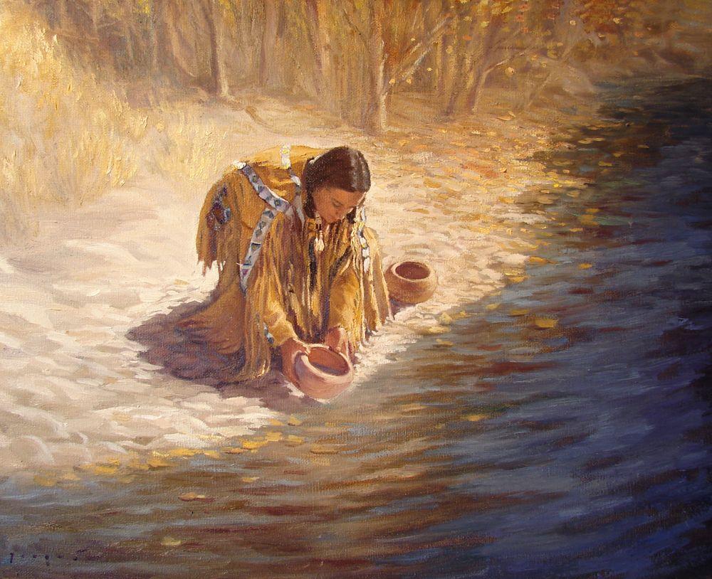 Waterus gift by david joaquin art american indian pinterest