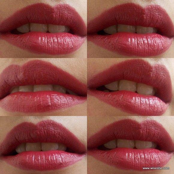 14 Lakme Crease Less Creme Lipsticks On Fair Olive Brown Skin