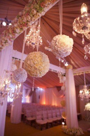 Decorative Balls To Hang From Ceiling White_Pomanders_From_The_Ceilings  Wedding Photos  Pinterest