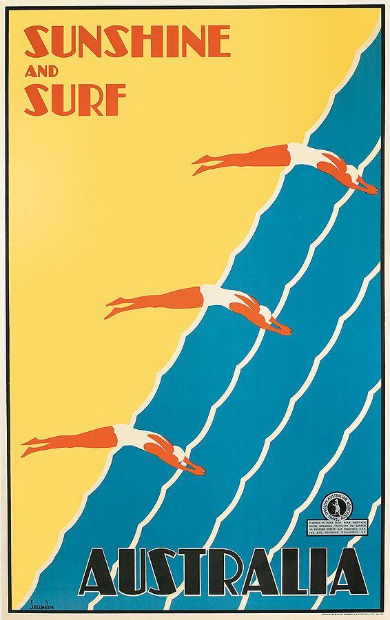 Vintage travel posters up for auction in 2019   //SURF +