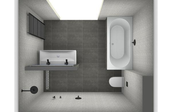 Ontwerp je eigen badkamer - Gratis tekenprogramma voor je badkamer ...