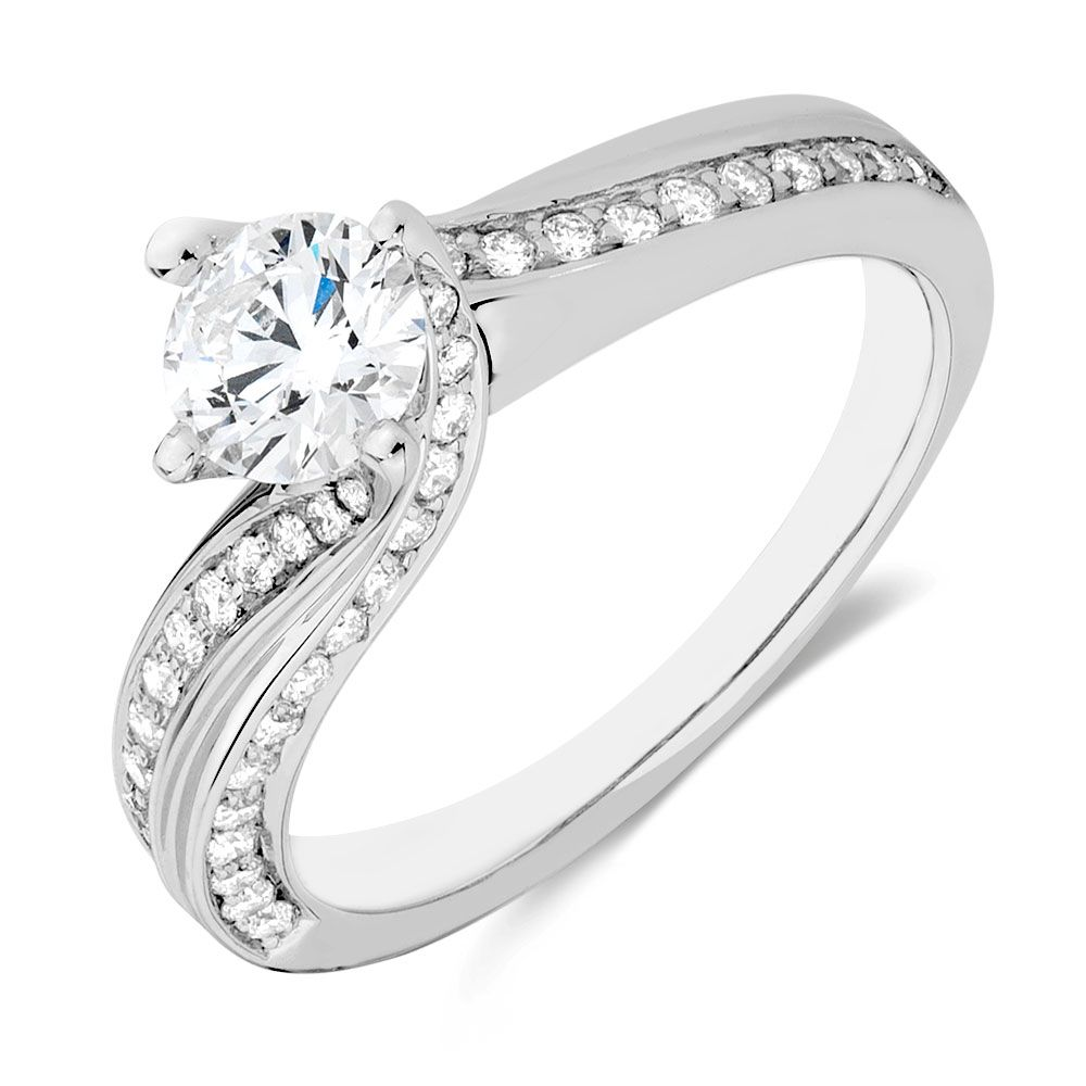 1 Carat Tw Diamond Ring Jewelry Rings Engagement Engagement Rings Engagement Rings Australia