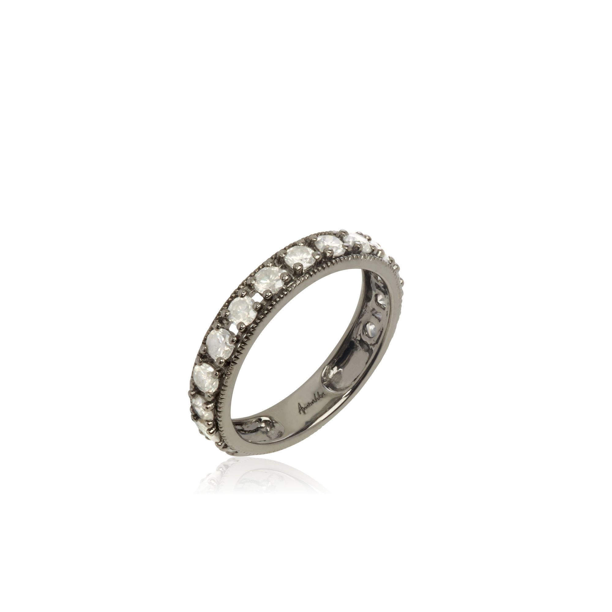 b699096ed7bcf Dusty Diamonds 18ct White Gold Icy Diamond Eternity Ring — Annoushka UK