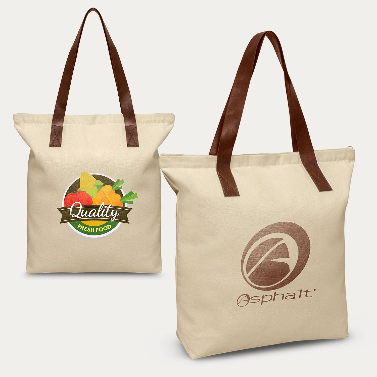 Promote your business with custom printed Ascot Tote Bags