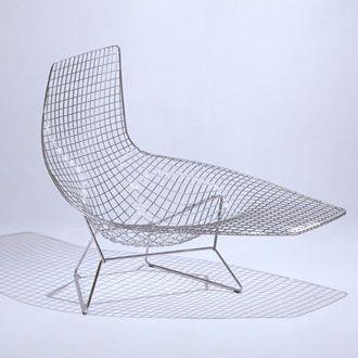 Beau Bertoia Asymmetric Diamond Lounge Chair