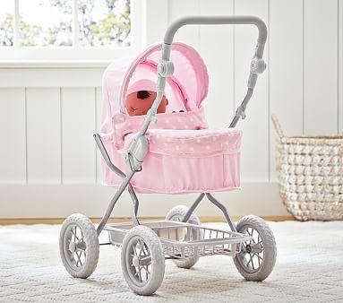 Heart Doll Pram Stroller Dolls Prams Baby Strollers