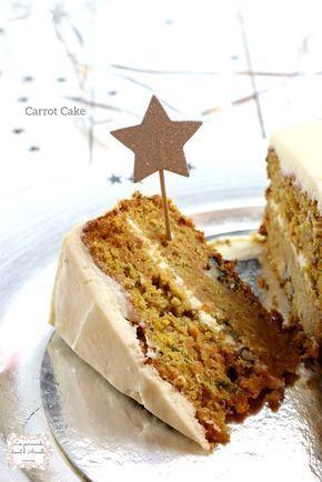 | Carrot Cake à l'américaine | © Les Gourmands {disent} d'Armelle La recette du carrot cake, sûrement l'un de mes desserts préférés, car il est vraiment goûteux et très moelleux. Non on ne sent pas les carottes! Elles ont tout simplement un rôle de pouvoir...