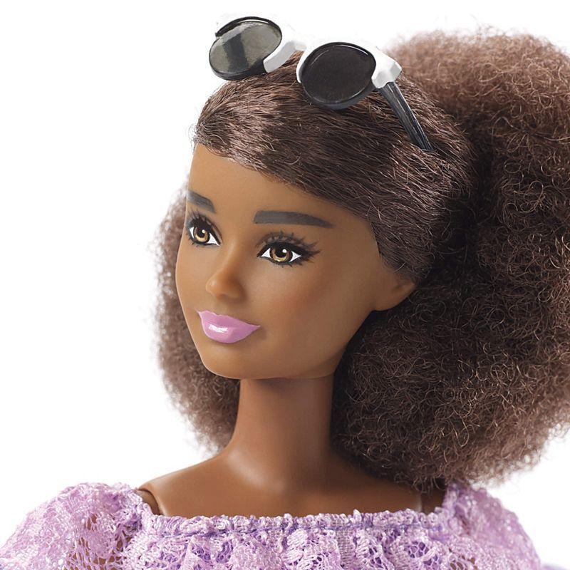 Barbie Fashionistas Doll 93 Purple Lace Romper - Petite | FJF53 ...