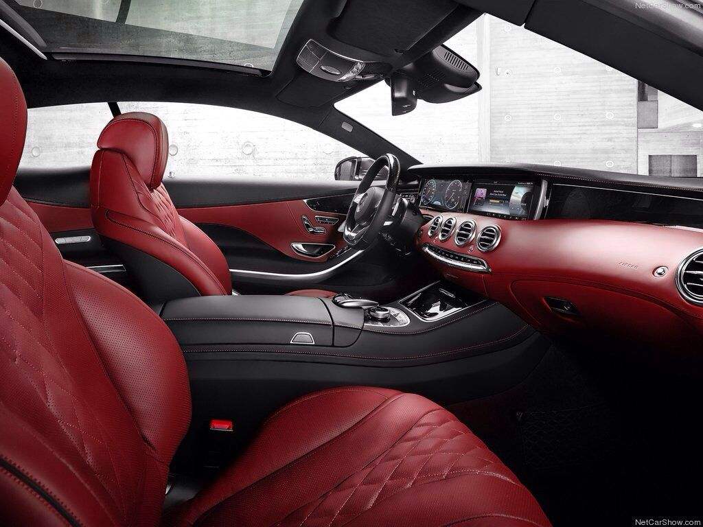Mercedes S Class Coupe Check Out The Interior I Know You Don T